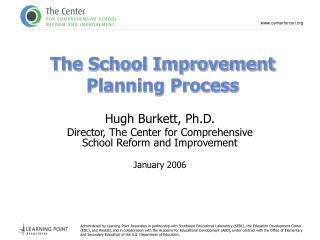 The School Improvement Planning Process