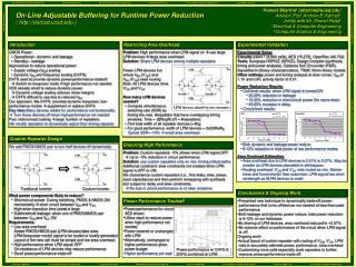 On-Line Adjustable Buffering for Runtime Power Reduction ( vlsicad.ucsd )