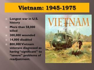 Vietnam: 1945-1975