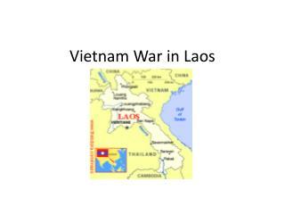 Vietnam War in Laos