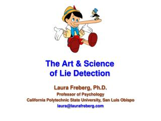 The Art & Science of Lie Detection
