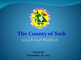 2014 Final Budget