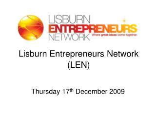 Lisburn Entrepreneurs Network (LEN)