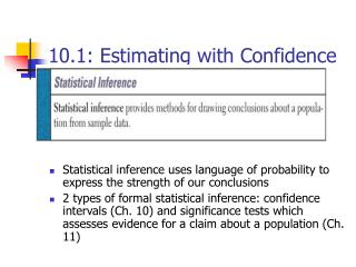 10.1: Estimating with Confidence