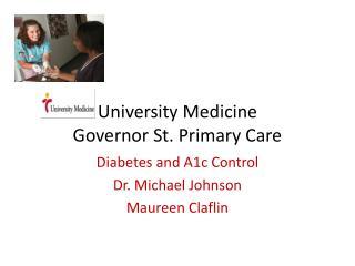 University Medicine Governor St. Primary Care