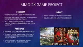 MMO-4x Game Project