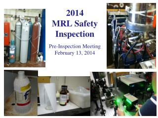 2014  MRL Safety Inspection