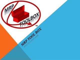 MRP Tool Box
