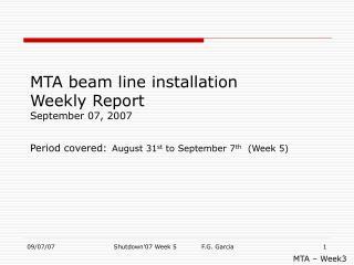 MTA – Week3