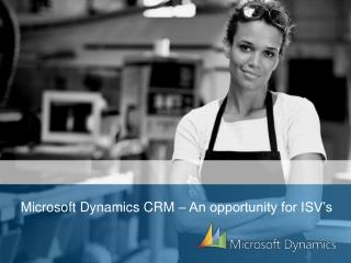 Microsoft Dynamics CRM – An opportunity for ISV's