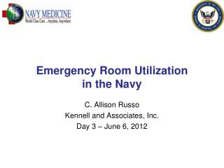 Emergency Room Utilization  in the Navy