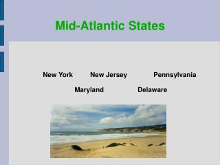 Mid-Atlantic States