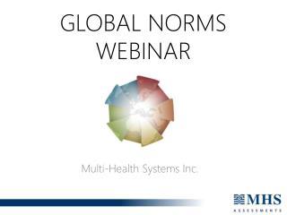 GLOBAL NORMS WEBINAR