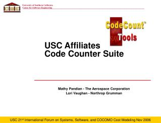 USC Affiliates  Code Counter Suite