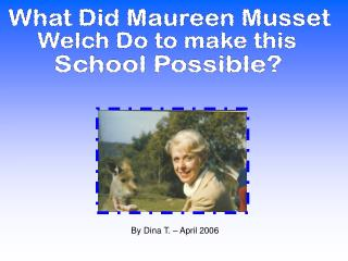 What Did Maureen Musset