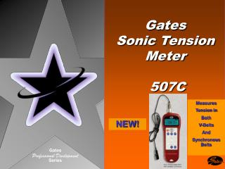 Gates Sonic Tension Meter    507C