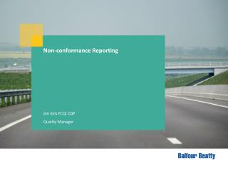 Non-conformance Reporting