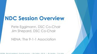 NDC Session Overview