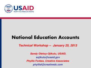 National Education Accounts