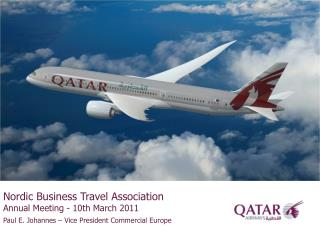 Nordic Business Travel Association Annual Meeting - 10th March 2011