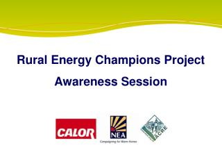 Rural Energy Champions Project Awareness Session