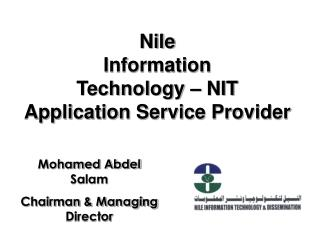 Nile  Information  Technology – NIT Application Service Provider