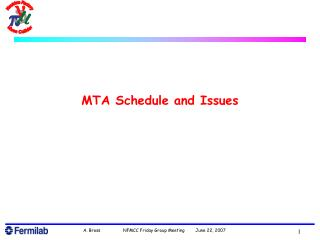 MTA Schedule and Issues