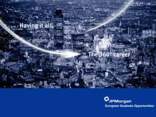 European Graduate Opportunities