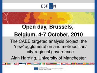 Open day,  Brussels,  Belgium, 4 -7 October, 2010
