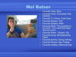 Mel Balser