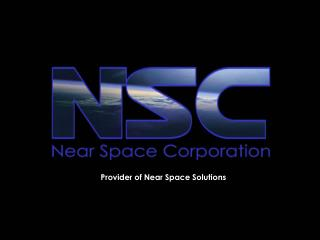 Provider of Near Space Solutions