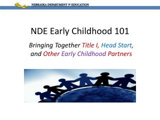 NDE Early Childhood 101
