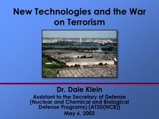 New Technologies and the War on Terrorism