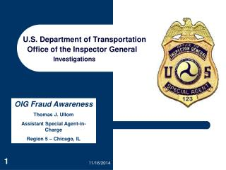 U.S. Department of Transportation   Office of the Inspector General