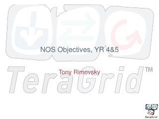 NOS Objectives, YR 4&5