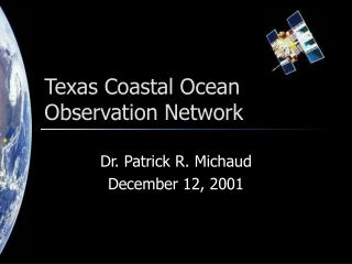 Texas Coastal Ocean Observation Network