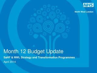 M onth 12 Budget Update