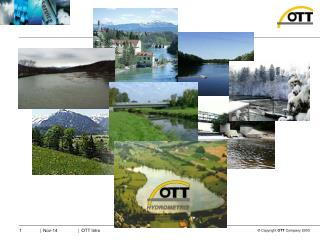 OTT Product Portfolio – Hydrological Cycle