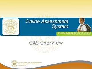 OAS Overview