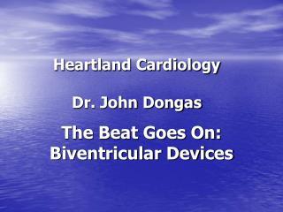 Heartland Cardiology   Dr. John Dongas
