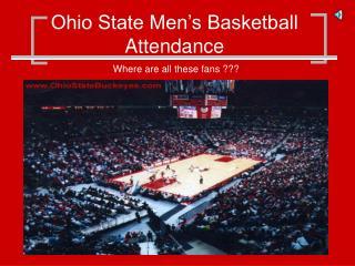 Ohio State Men�s Basketball Attendance