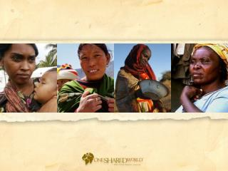 Faces of Global Poverty