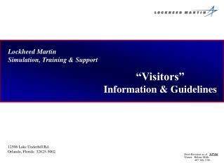 Lockheed Martin Simulation, Training & Support