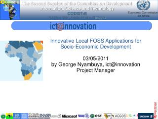 Innovative Local FOSS Applications for Socio-Economic Development  03