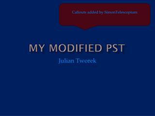 My modified PST