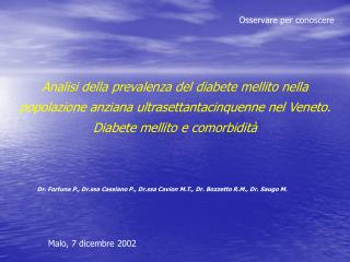 Malo, 7 dicembre 2002