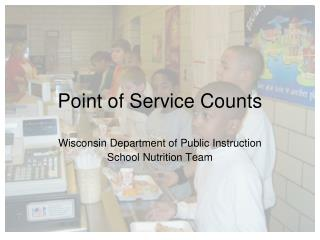 Point of Service Counts