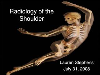 Radiology of the Shoulder