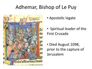 Adhemar, Bishop of Le Puy