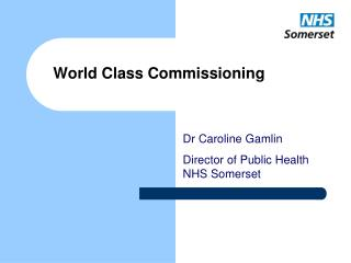 World Class Commissioning